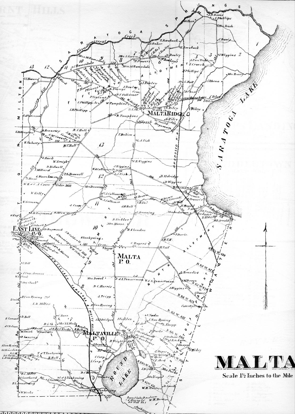 Town of Malta - Saratoga Co. Atlasmalta town